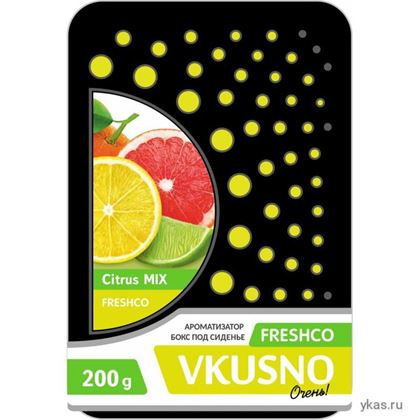 "Изображение Осв.воздуха под сиденье ""Freshco VKUSNO"" Citrus MIX"